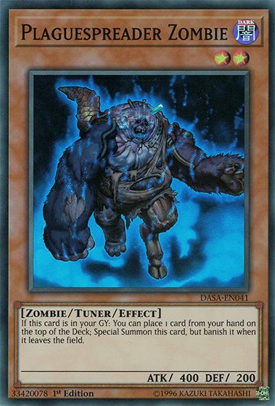 Plaguespreader Zombie Yu-Gi-Oh Card
