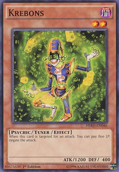 Krebons Yu-Gi-Oh Card
