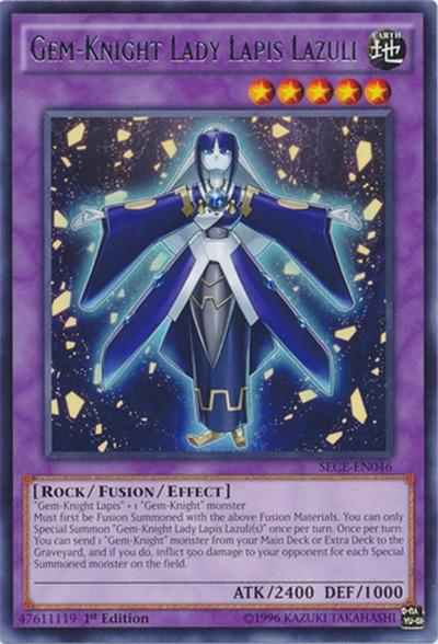 Gem-Knight Lady Lapis Lazuli YGO Card