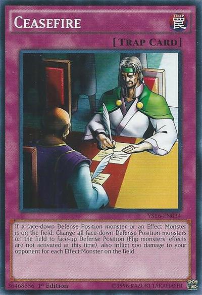 Ceasefire Yu-Gi-Oh Card