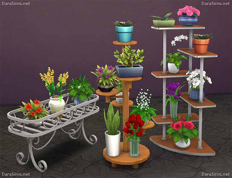 Flower Stands for The Sims 4