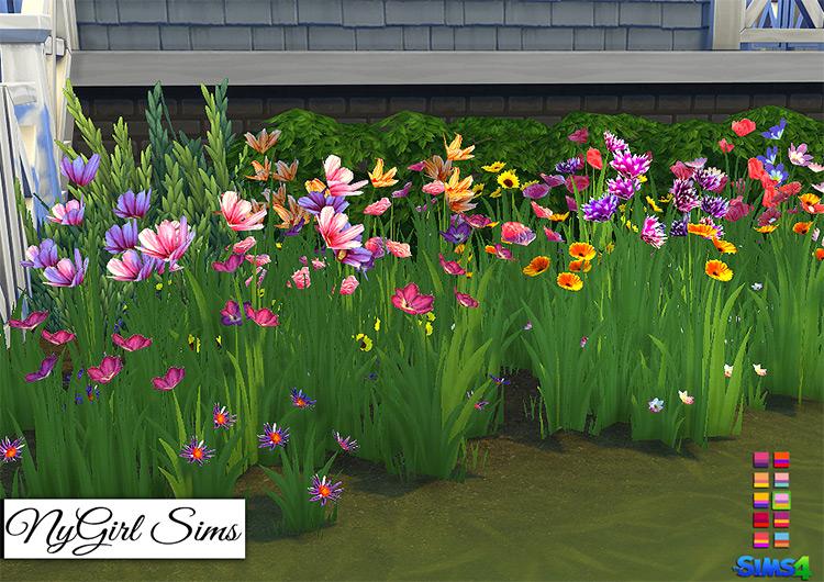 Wildflower Assortment / Sims 4 CC