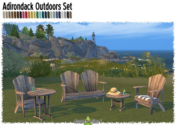Adirondack Outdoors Set / TS4 CC