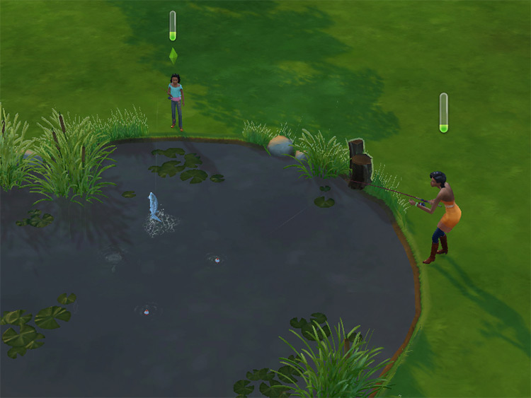 Buyable Ponds / Sims 4 CC