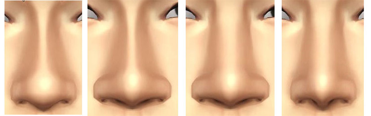 Brand New Nose Slider Sims 4 CC