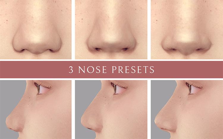 Three Nose Presets TS4 CC