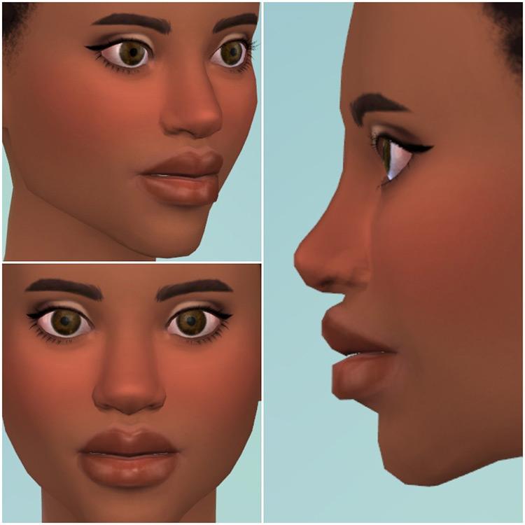 Cute Nose Preset Sims 4 CC