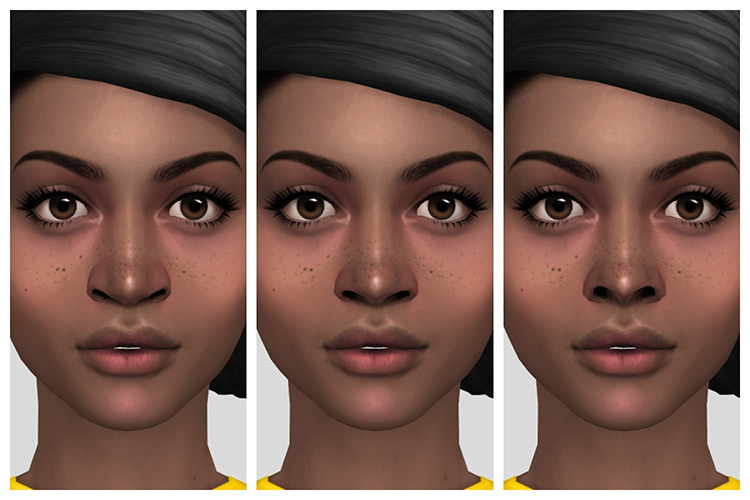 Expanded Nose Sliders Sims 4 CC