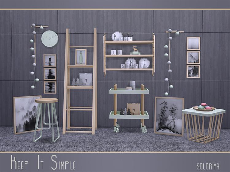 Keep It Simple by soloriya Sims 4 CC