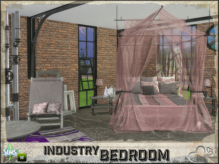 Bedroom Industry by BuffSumm for Sims 4