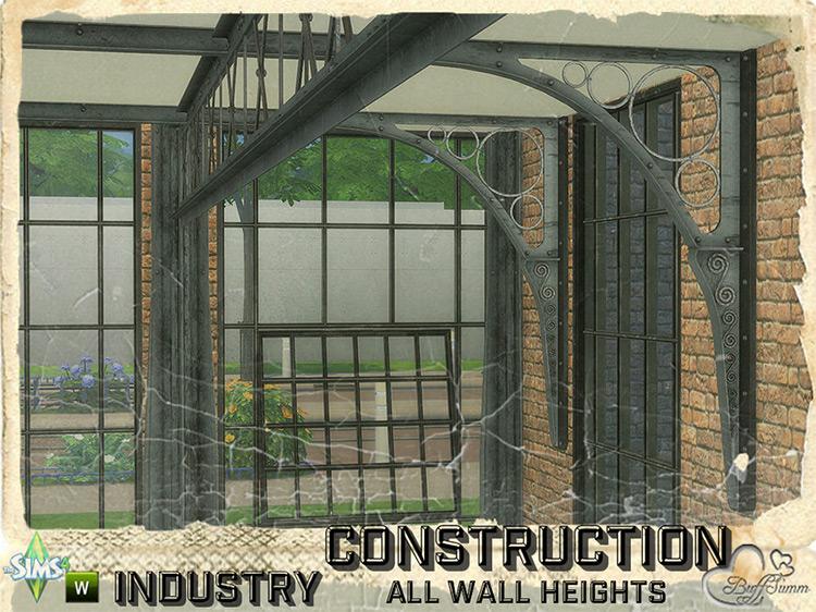Industry Construction (Beams & Fence) by BuffSumm TS4 CC
