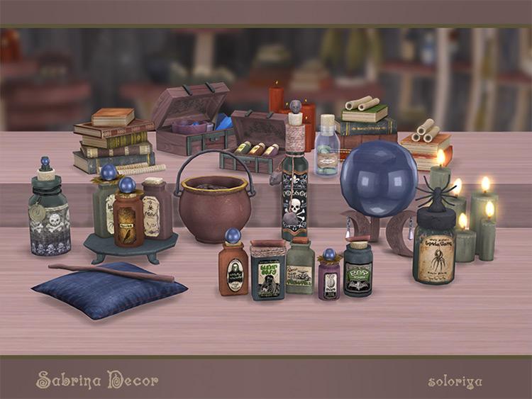 Sabrina Decor CC set for The Sims 4