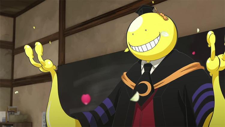 Koro-sensei from Assassination Classroom anime