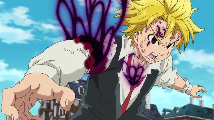 Meliodas from The Seven Deadly Sins anime