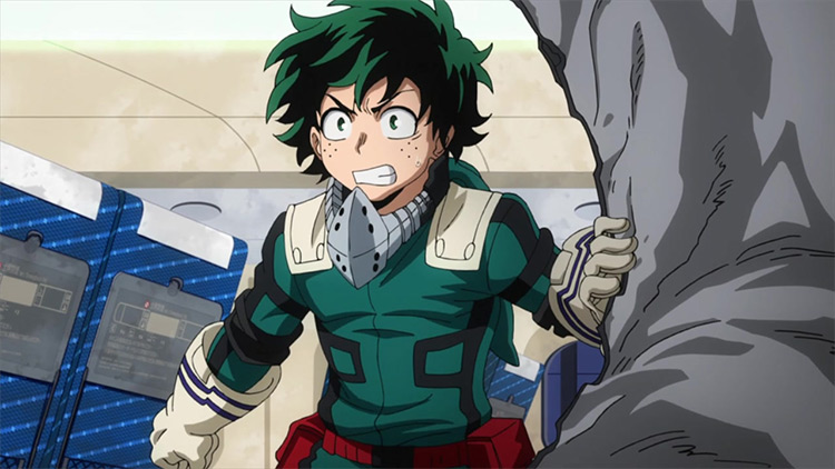 Izuku Midoriya My Hero Academia anime screenshot