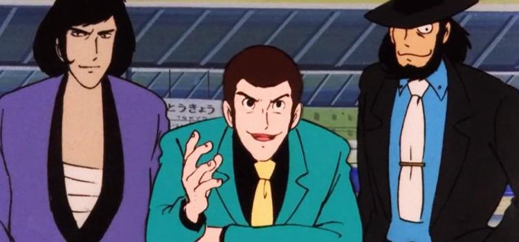 Lupin the III classic anime screenshot