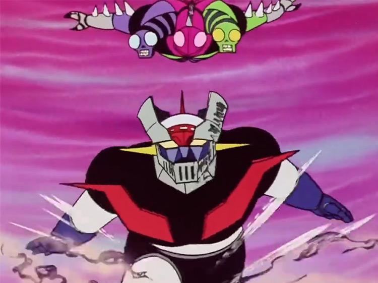 Mazinger Z anime screenshot