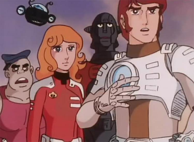 Captain Future anime