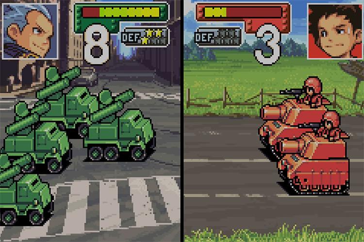 Advance Wars GBA screenshot
