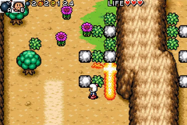 Bomberman Tournament GBA gameplay