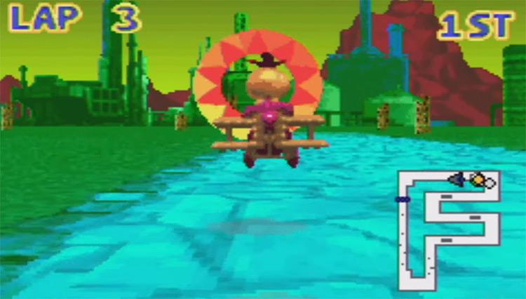 Banjo-Pilot GBA game screenshot