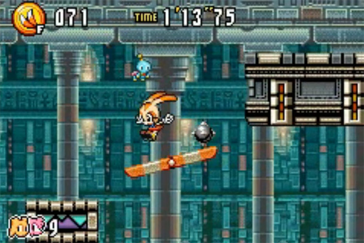Sonic Advance 3 GBA gameplay