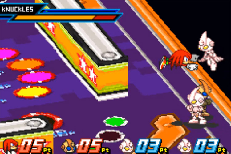 Sonic Battle on Game Boy Advance