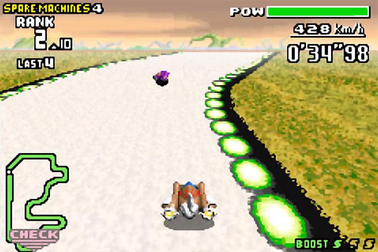 F-Zero: Maximum Velocity GBA screenshot