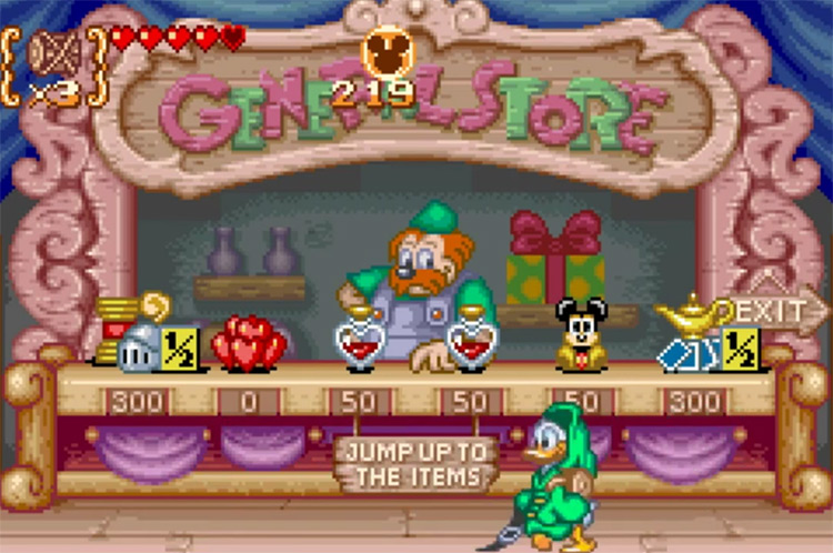 Disney's Magical Quest 3 Starring Mickey& Donald GBA gameplay