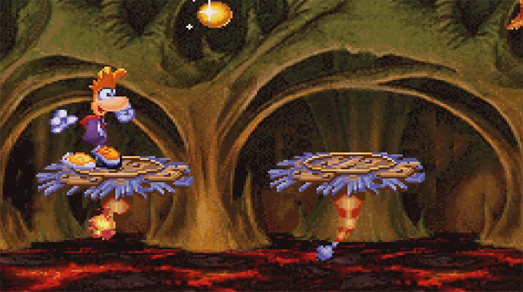 Rayman 3 GBA screenshot