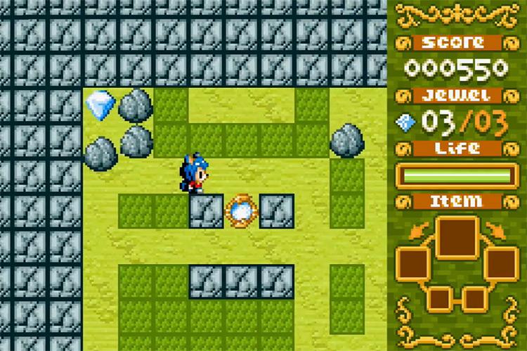 Boulder Dash EX Game Boy Advance