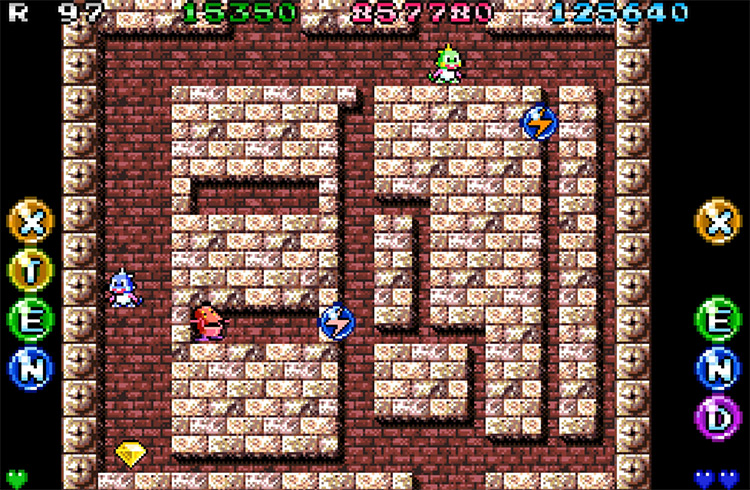 Bubble Bobble: Old & New game screenshot