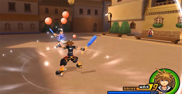 Counterguard ability screenshot in KH2