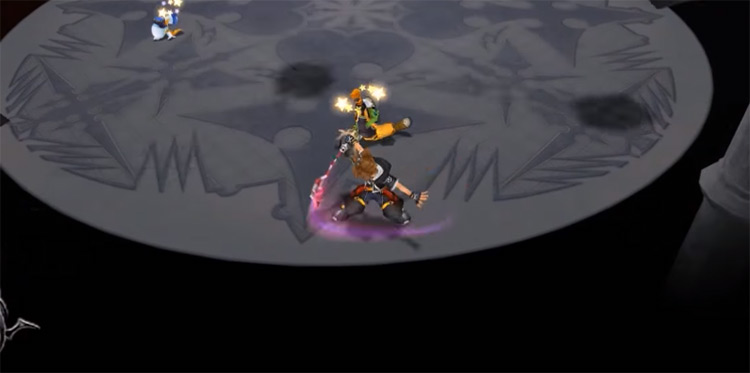 Guard ability preview from KH2