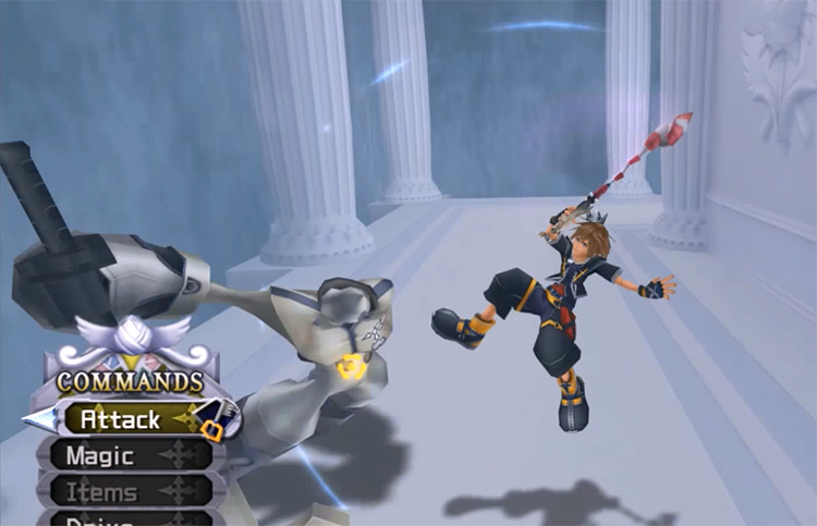 Aerial Recovery ability in KH2
