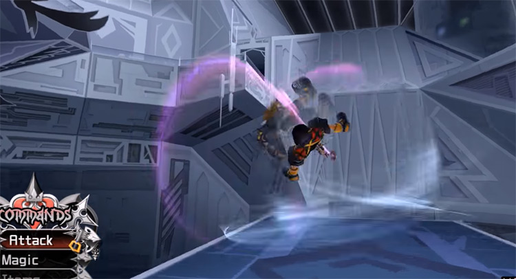 Aerial Dodge ability in KH2