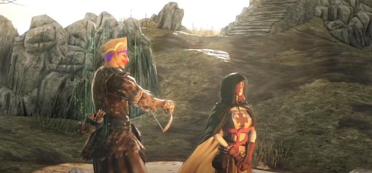 Dark Souls 2 custom player with bow