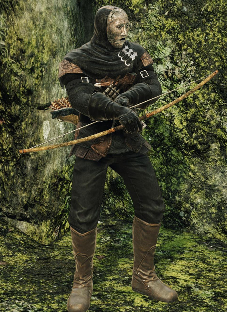 Shortbow in-game preview from DS2