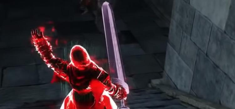 Crypt Blacksword in Dark Souls 2 HD