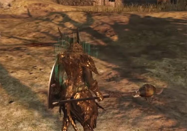 Roaring Halberd weapon in DS2