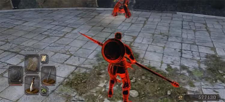Silverblack Spear in Dark Souls 2