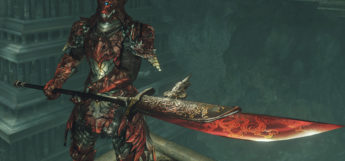 Black Dragon Halberd weapon preview for DS2