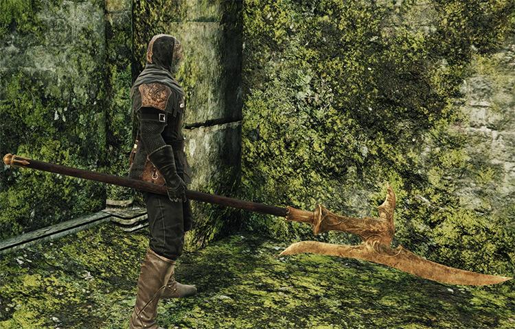 Mastodon Halberd in Dark Souls 2