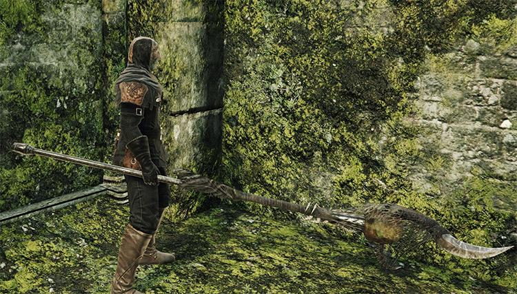Roaring Halberd in Dark Souls 2