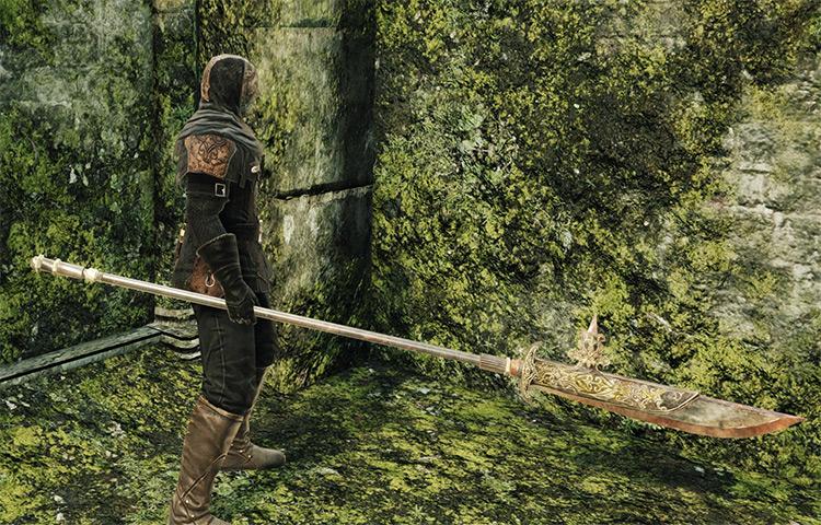 Black Knight Halberd in Dark Souls 2