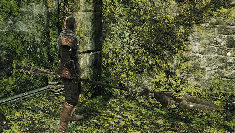 Santier's Spear in Dark Souls 2