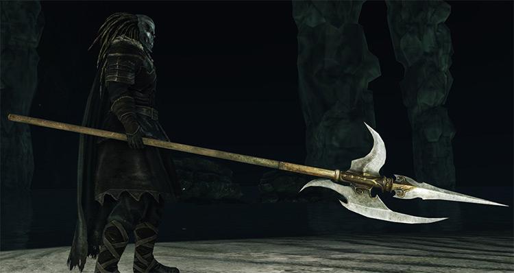 Blue Knight's Halberd in Dark Souls 2