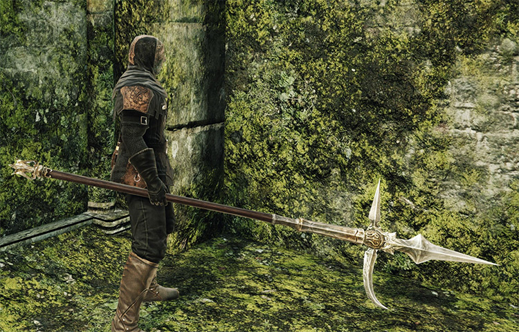 Syan's Halberd in Dark Souls 2