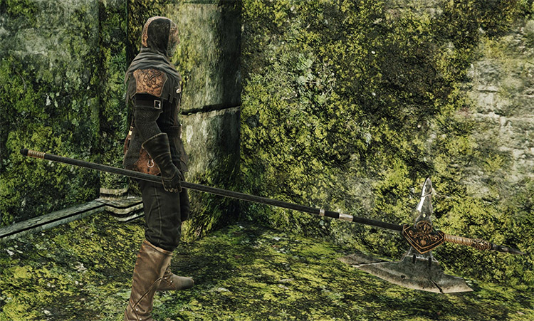 Dragonrider Halberd in Dark Souls 2