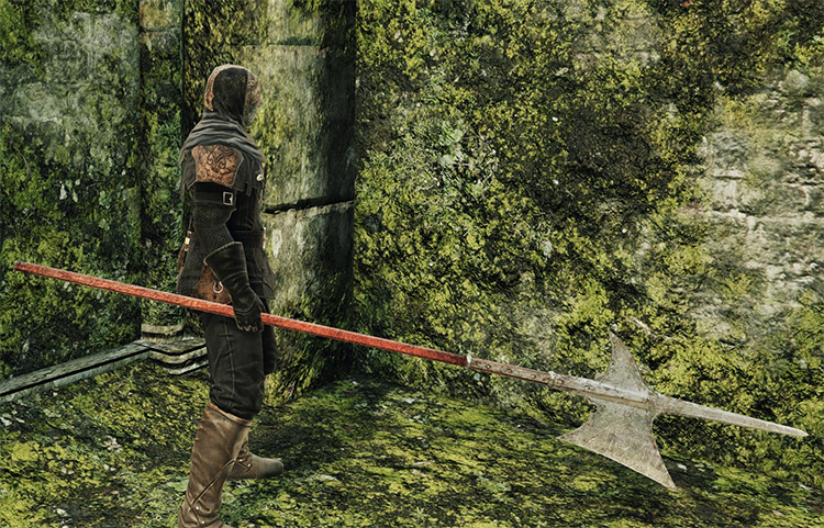 Halberd weapon from DS2